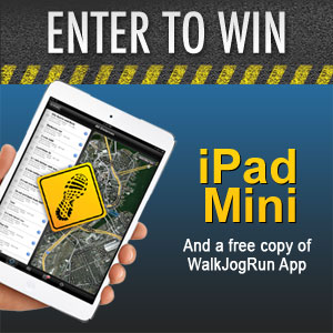 WalkJogRun iPad Mini Sweepstakes